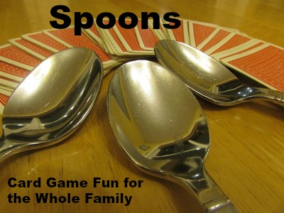 Spoons Card Game Valley Family Fun